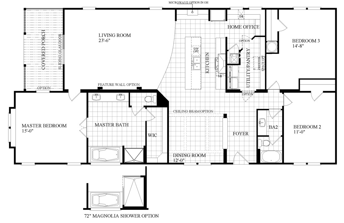 Floor Plans For Southern Energy Homes on House Plans With Angled Garage