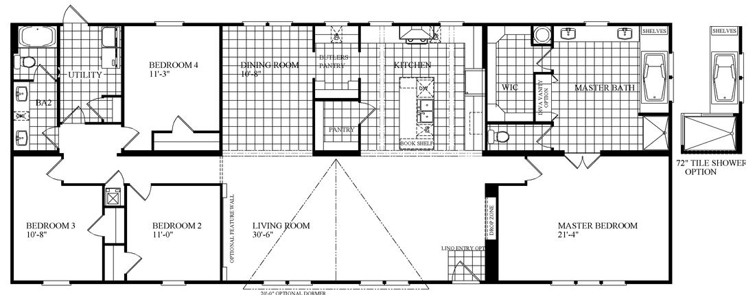 The THE SWEETWATER Floor Plan