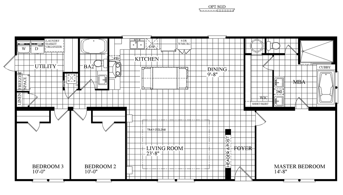 The THE COWBOY Floor Plan